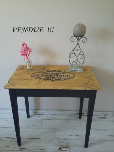 table style rétro